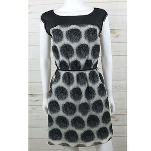 <Madewell> Shady Lane Silk Dress Polka Dot Print
